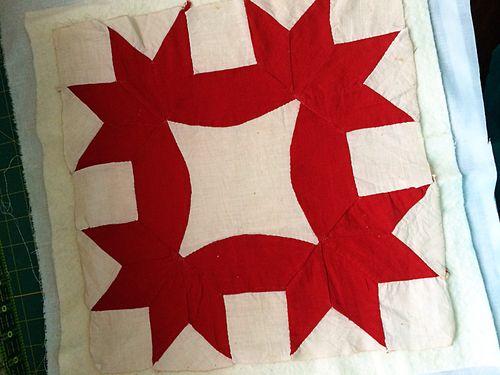 Vintage Quilt Block 1