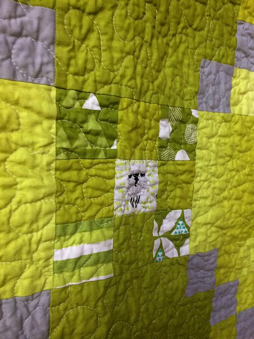 Color theory quilt 7