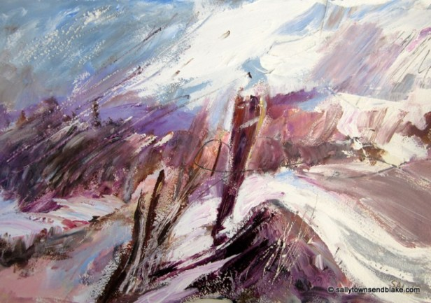 Winter on the Lyth by SAL