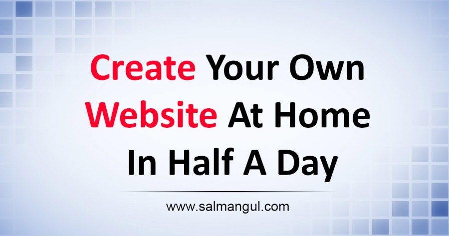 Create a website - salmangul.com