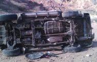 أبين : حادث مروري مروع يتسبب بمقتل 3 أشخاص وإصابة 3 آخرين ..