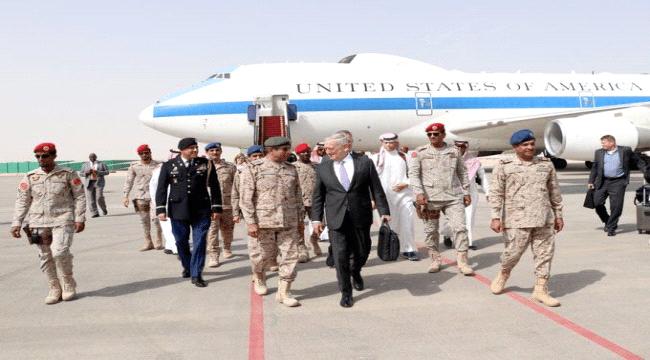 من الرياض وزير الدفاع الأمريكي يهدد الحوثيين وصواريخهم البالستية
