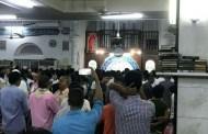 متطرفون يمنعون امام مسجد ابان من الصلاة بالناس