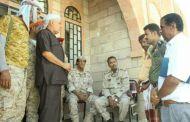 محافظ أبين يزور مديرية الوضيع بعد تطهيرها من عناصر القاعدة