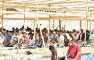 خطيب الجمعة في ساحة الشهيد الجنيدي يطالب بمزيد من التصعيد