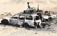 الجيش المصري يعلن تدمير أوكار وعربات لإرهبين في سيناء