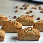 French financier with a touch of hazelnut or how to make French pastry in 30 minutes