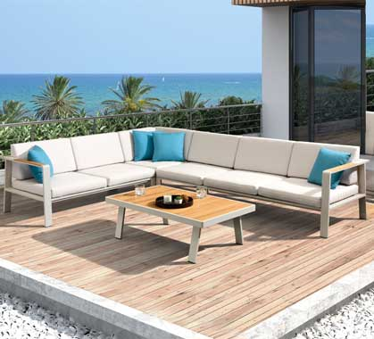 salon d ete meubles de jardin design
