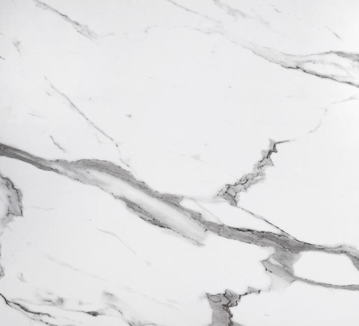 table de jardin plateau hpl 160cm effet marbre blanc