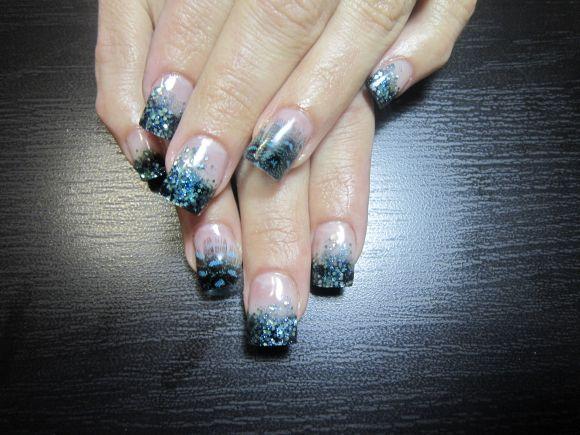 inlaid nail art