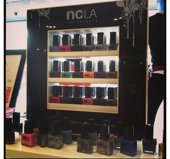 NCLA Showcased Its Polish Line At Kitson In LA During The Holidays