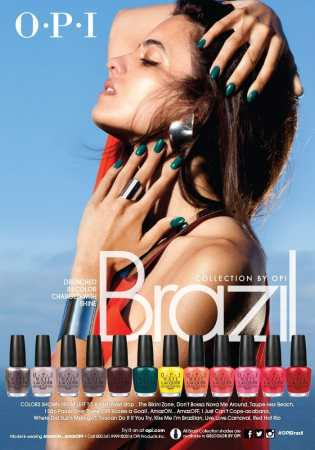23 OPI Brazil Collection