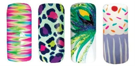 31 its so easy Stripe Rite nail art