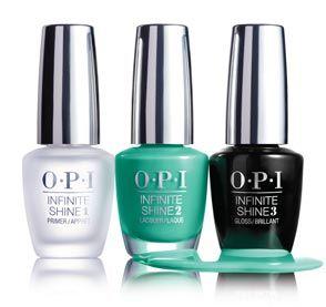 57 OPI Infinite Shine trio