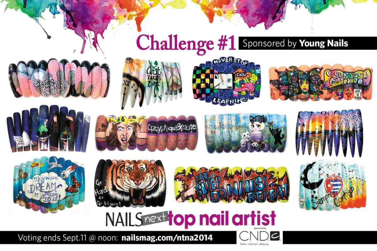 Vote For NAILS Next Top Nail Artist and Play Along At Home | Salon ...