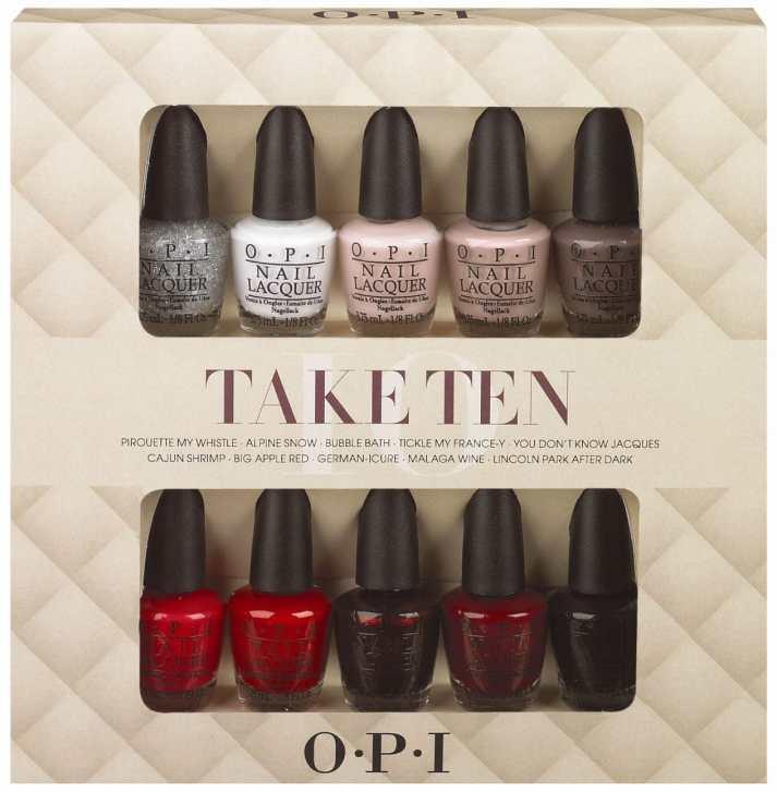 OPI Take Ten
