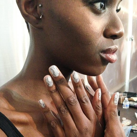 Jamberry at Christine Alcalay NYFW
