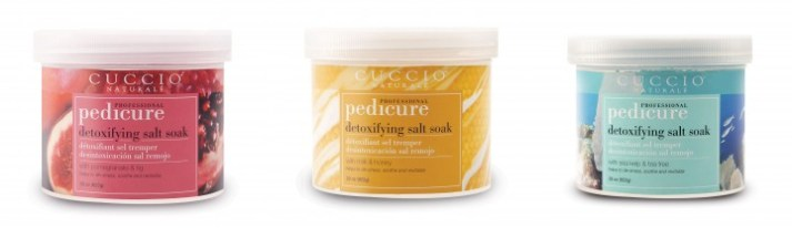Cuccio Naturale Perfect Pedi soaks