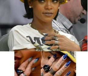 Rihanna in Gel II