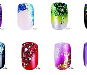 Kiss Disney Villains Nail Art Kit