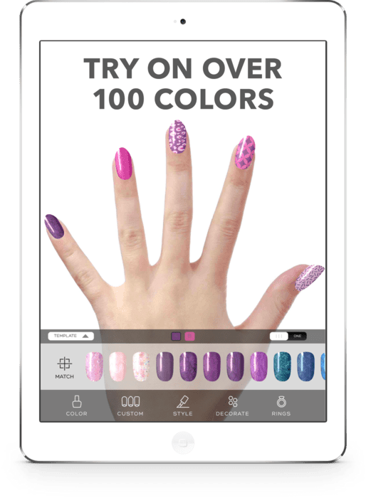 Virtual Nail Salon