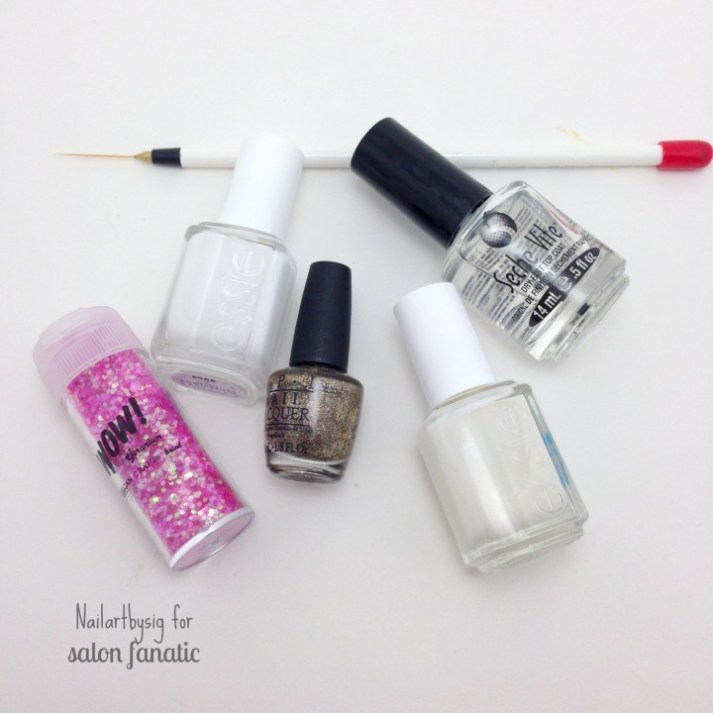 NYE nail art supplies
