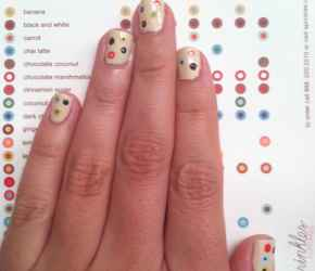 Sprinkles nail art