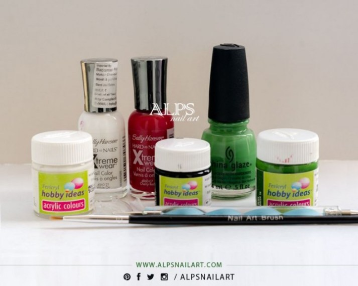 watermelon-nail-art-supplies