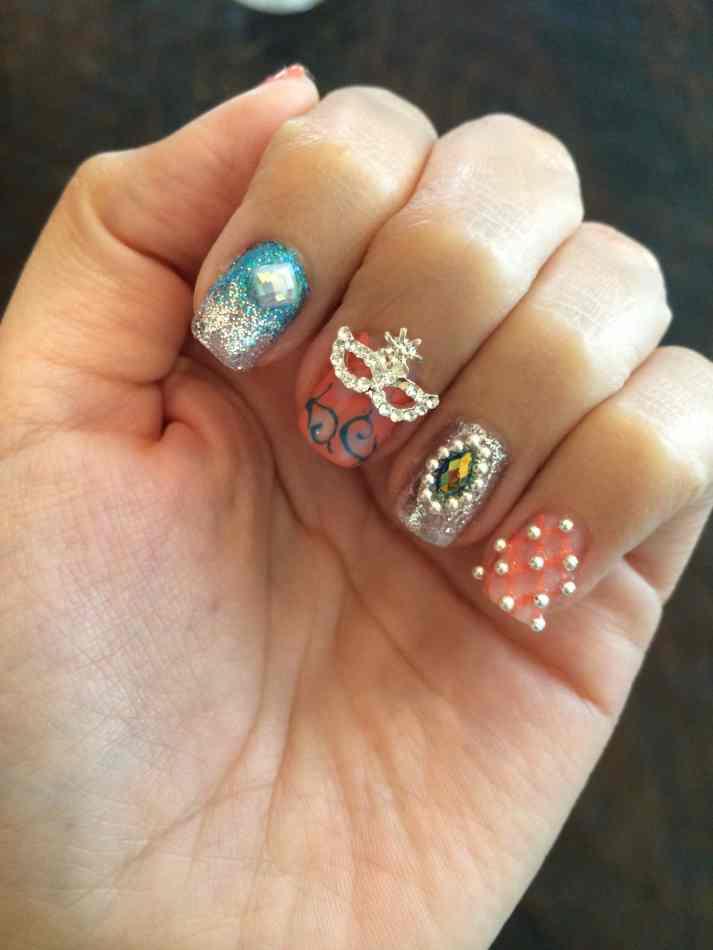 wedding season nails