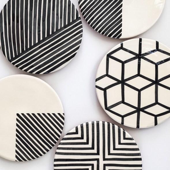 Casa Cubista Keramik Portugal Servierplatten Kuchenplatten
