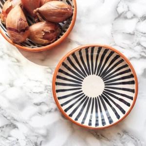 Casa Cubista Keramik Schälchen schwarz-weiss
