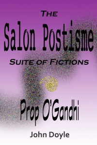 ebook cover for Prop O'Gandhi by John Doyle