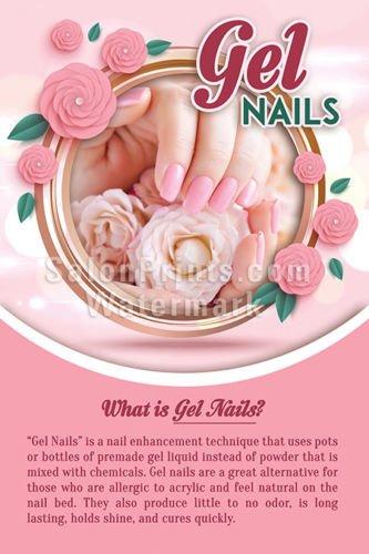 nail salon poster nsd p211