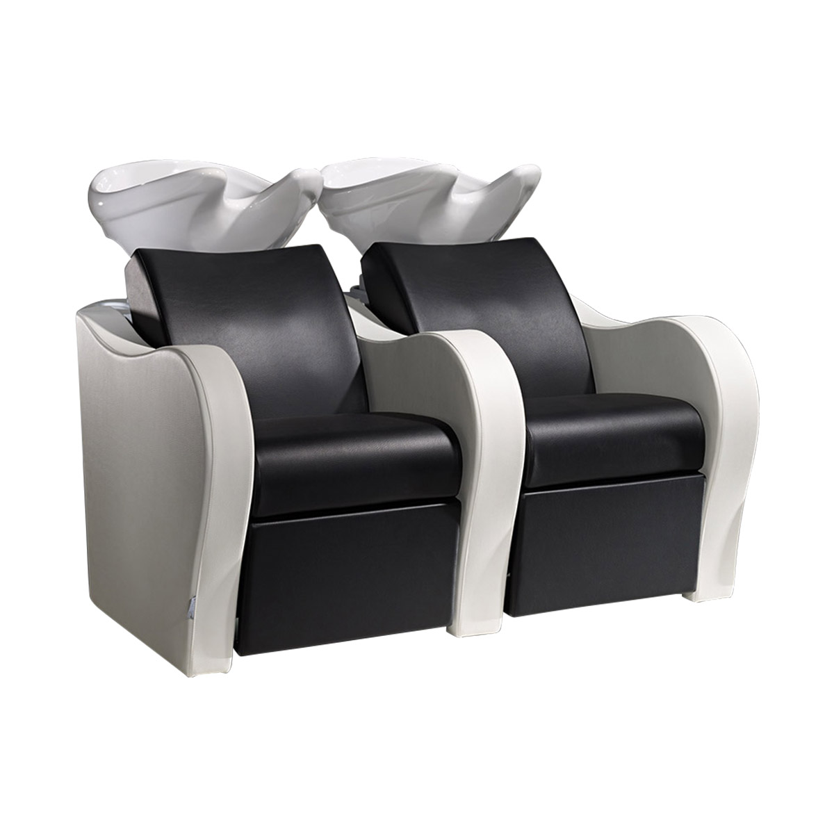 luxury sofa salon sink and 2 chair combo by salon ambience