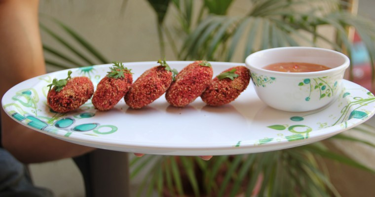 Beetroot Cutlet Recipe