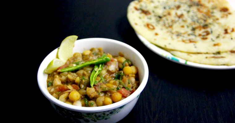 Matar-Kulcha Recipe
