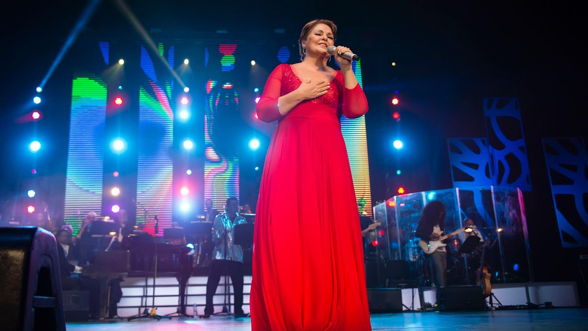 Lupita D'Alessio en concierto