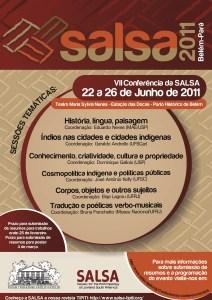 2011 SALSA VII Sesquiannual Conference - Belém do Pará, Brazil
