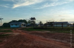 deserted village covid