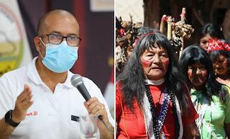 Comunidades indígenas recibirán 420 mil mascarillas comunitarias y pruebas rápidas para descartar la COVID-19 (5-8-20)