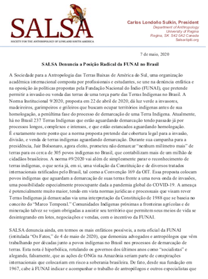 PIAC PT Carta Funai 7 Maio 2020