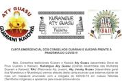 CARTA EMERGENCIAL DOS CONSELHOS GUARANI E KAIOWÁ FRENTE A PANDEMIA DO COVID19 (5-16-20)