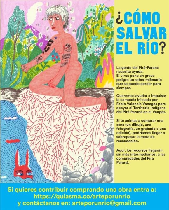 ¿Cómo salvar el río? Arte por el río Pirá-Paraná (7-14-20)