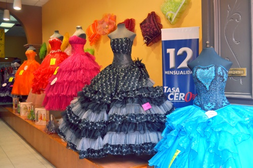 Gowns in Puebla