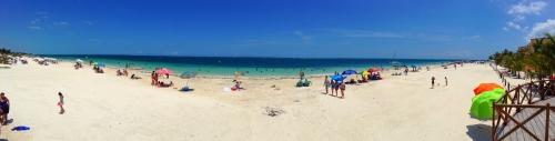 Puerto Morelos Beach Easter 2014