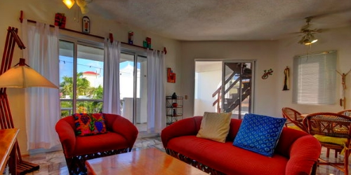 Two bedroom condo off the beach.