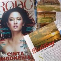 Pulau Belitung di Majalah Prodo & Wi-Fi Gratis di Majalah Femina