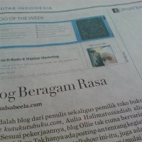 Blog of The Week Koran Sindo