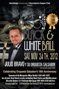 Black White Ball Julio Bravo