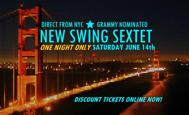 New Swing Sextet in San Francisco